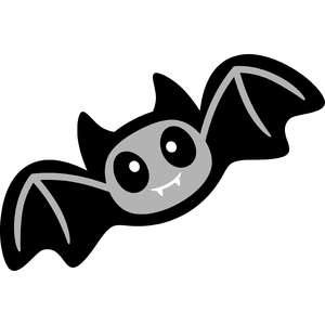 halloween cute bat