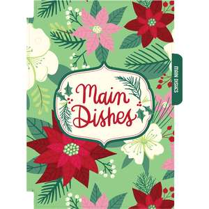 holiday cookbook main dishes divider