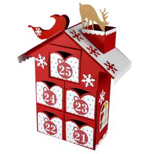 christmas advent village drawers 21-25 – santa