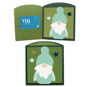 gnome gift card holder