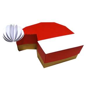 santa claus cap box