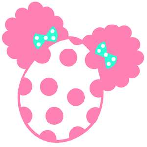 afro puffs polka dot egg