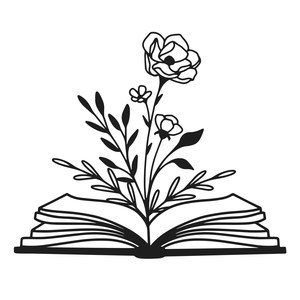 floral book