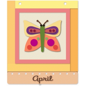 april dozen squares quilt block
