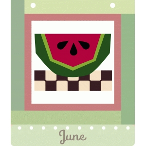 june dozen squares quilt block