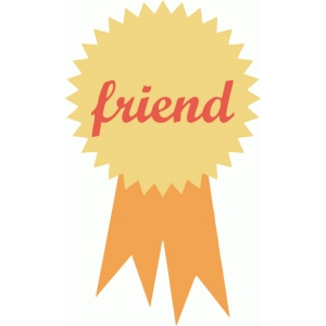 echo park friend award ribbon