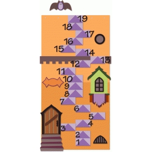 halloween count down tower lower half