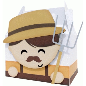 cute farmer box
