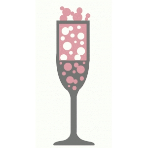 bubbly champagne flute