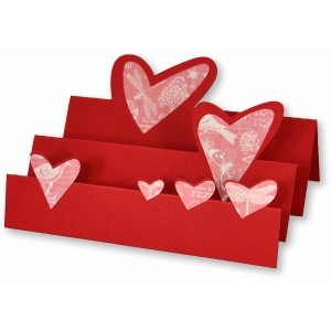rising hearts card