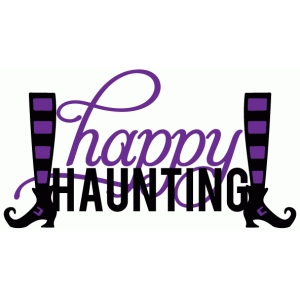 happy haunting witch legs