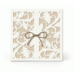 5x5 fall leaves gatefold card