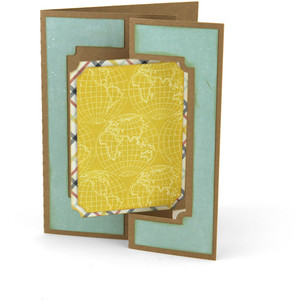 flip flap card rectangle