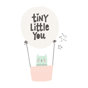 tiny little you balloon