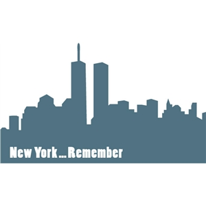 new york remember skyline