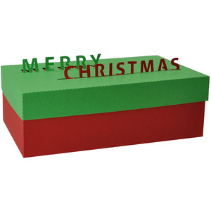merry christmas pop up letters box