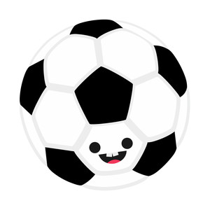 cute soccer ball