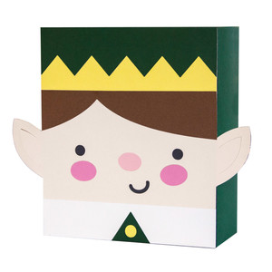 christmas elf bag box