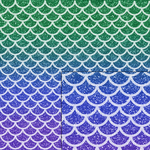 mermaid squama glitter pattern