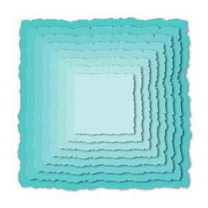 nested torn square backgrounds