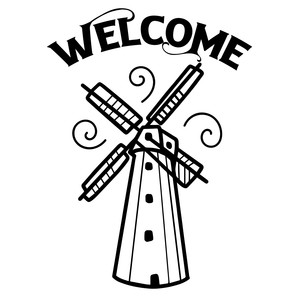 welcome windmill design