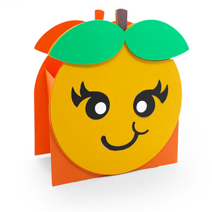 cute orange box