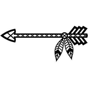 tribal arrow