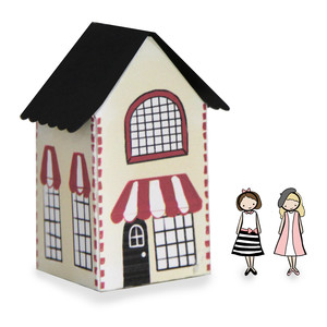 paper doll house - parisian