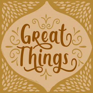 great things font
