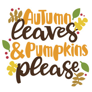 autumn leaves phrase