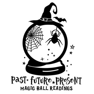halloween magic ball