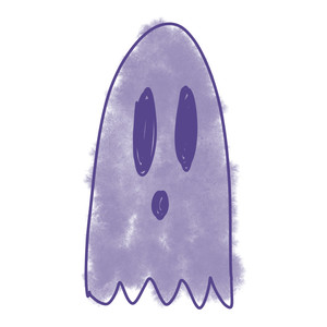 doodle ghost