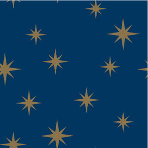 christmas starry sky pattern