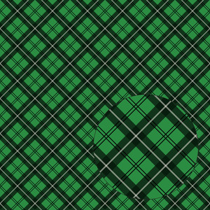 green & black christmas plaid seamless pattern