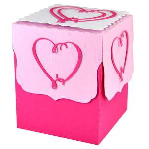 heart in heart gift box