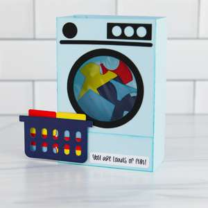 box card washing machine