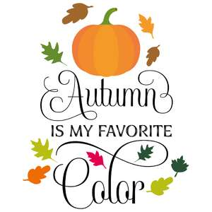 autumn is my favorite color
