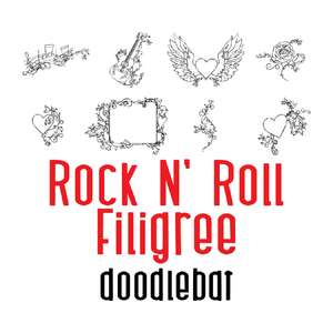 rock-n-roll filigree doodlebat