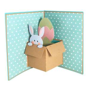 easter popup card