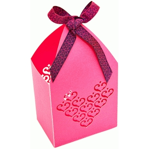 hearts favor box