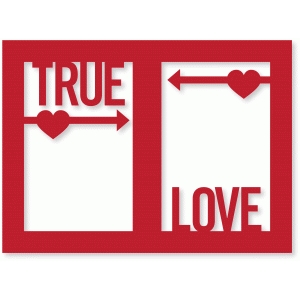 true love frame