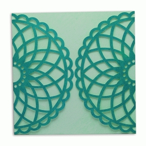 card wrap doily design