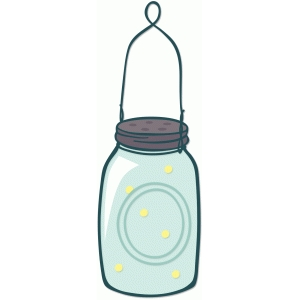 mason jar fireflies
