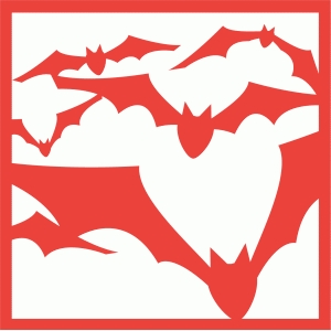 flying bats tile