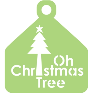 tag, oh christmas tree