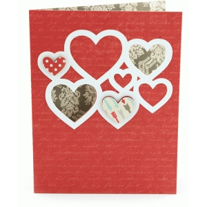 a2 heart cluster card