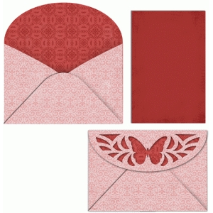 butterfly envelope and liner
