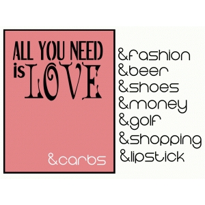 all you need is... card
