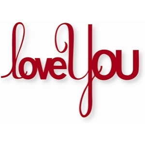 word: love you