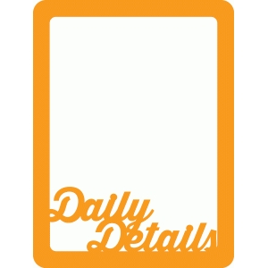 daily details mini placemats